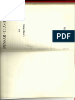 Georges Perec,  LeerBosquejo de Pensar Clasificar