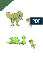 Imagenes Dinosaurios Con Color
