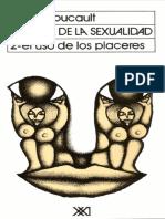 1 Foucault Historia de La Sexualidad Volumen 2 El Uso de Los Placeres