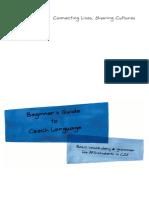Language Booklet CZE