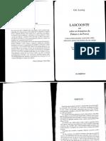 LESSING - Laocoonte Ou Sobre as Fronteiras Da Pintura e Da Poesia (Trechos Escolhidos)