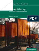 AP Art History Course and Exam Description, Effective 2015.pdf
