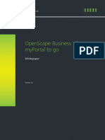OpenScape Business MyPortal to Go Whitepaper En