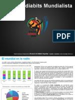 Cobertura radial durante el Mundial