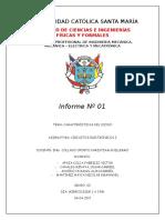 Informe 1 Caracteristicas Del Diodo