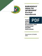 BHW Pocket Handbook