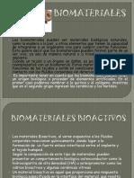 Exposicion de Los Biomateriales