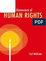 Carl Wellman - The Moral Dimensions of Human Rights