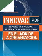 Innovacion en El ADN de La Organisacion