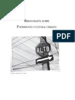 Andamios - Bibliografía Sobre Patrimonio Cultural Urbano