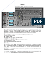 STS 21 Pro Manual
