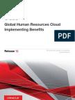 Oracle fusion hcm Benefits r12