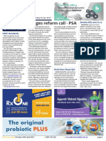 Pharmacy Daily for Mon 10 Apr 2017 - PSA call for wage reform, Guild backs ERRCD, RUM bins flood Qld, Weekly Comment and much more