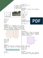 Prova de Matematica 7a Serie III Unidade