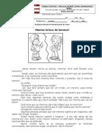 Mensal Int Texto 5º Ano
