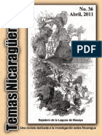 Revista de temas nicaragüenses No.36