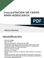 Diapos Rorschach y Mmpi. Esteban