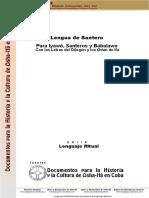 Diccionario Lengua de Santero