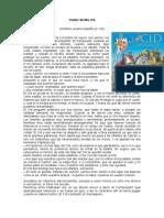 Fragmento EL Cid El Leon y Los Yernos Cobardes