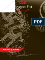 Excerpt - 5e Dragon Fist Cover