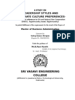 39031439-A-STUDY-ON-LEADERSHIP-STYLES-AND-COPORATE-CULTURE-PREFERENCES-IN-ONGC-RAJAHMUNDRY.doc