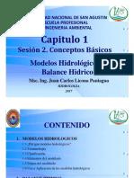Cap1 Ses2 Hidrologia Conceptos 2017