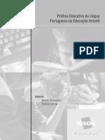 Práticas Educativas Da Língua Portuguesa Na Educação Infantil
