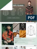 Desarrollo de Diseño P v 18 Camisas y Tops Tejidos de Hombres