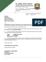 Surat Penerimaan Lawatan Sk Seri Hartamas 2017