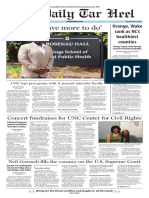 The Daily Tar Heel for April 10, 2017