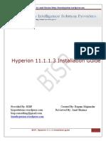 BISP Hyper Ion 11 1 1 3 Installation Guide