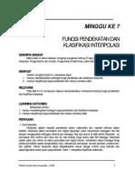 Fungsi pendekatan dan klasifikasi interpolasi MINGGU 7.pdf