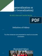 logical fallacies presentation