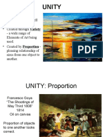 principles of design - unity  student   1