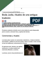 Boda Judía, Rituales de Una Antigua Tradición _ InEventos Costa Rica