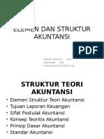 Elemen Dan Struktur Akuntansi