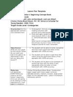 edt 315 module 4 lesson plan template