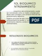 Control Bioquimico Del Entrenamiento