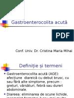 C13 Gastroenterocolita acuta