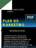 Plan de Marketing Policlinico Santa Isabel