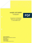 Assyakirin Mosque Audited Financial Statements 2015