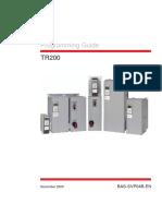 Trane TR200 Programming Guide
