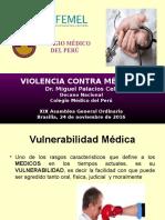 Violencia Contra Médicos CONFEMEL