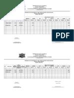 Tabel Profil Trib IV SANITASI 2014