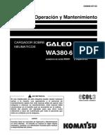 O&M WA380-6  65001-UP GSN00187-00