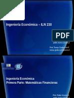 20162ILN230S131_Apuntes Ingenieria Economica