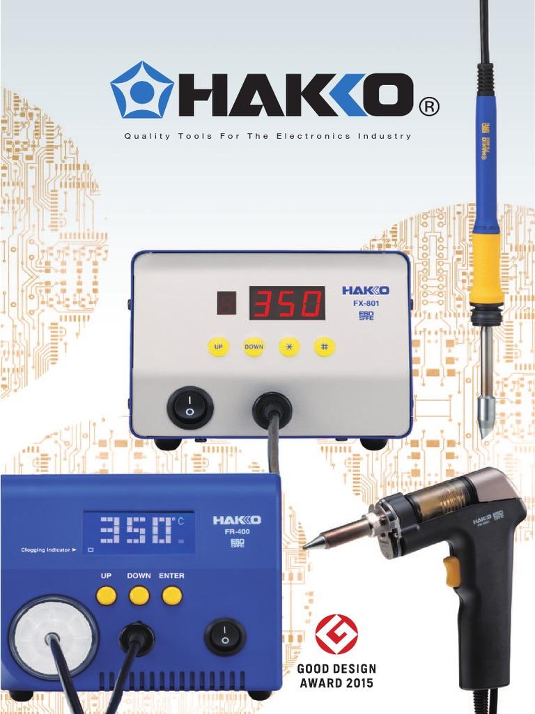Hakko Desoldering Nozzle N50 Series 1.0mm x 2.0mm