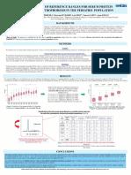 Establishment of Reference Ranges for SPE in the Pediatric Population - A. Fogli