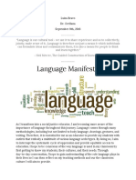 bravo luisa language manifesto