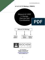 Edexcel A2 Biology 6BI05